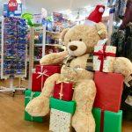 大きなクマさんが登場!クリスマスまで1カ月!!《スキレット日記:2019-12-26@スキレット》