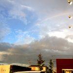 レインボー通り から 見た 虹 《スキレット日記:2020-08-11@高松市多肥下町・スキレット》