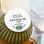 春めく季節にふさわしい陶器~マルミツ・ポテリ・スタジオエム(studio M)~《スキレット日記:2021-04-05@高松市多肥下町・スキレット》